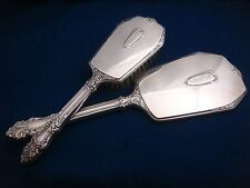 Beautifully Ornamented Sterling Silver Vanity Set by the Saart Brothers