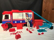 EVEL KNIEVEL SCRAMBLE VAN COMPLETE With Action Figure 1973 Ideal