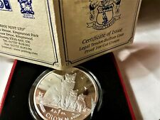 Isle of Man 2008 - Burmilla Cat - Proof Fine Silver Coin box & Coa