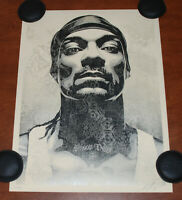 Shepard Fairey Art Print Snoop Dogg Obey Giant Poster S# 334/550 Dre Death Row