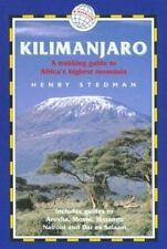 Kilimanjaro: A Trekking Guide to Africa's Highest Mountain, Includes-ExLibrary