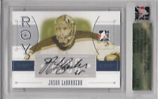 05-06 ITG ULTIMATE R.O.Y. AUTOGRAPH AUTO SILVER JASON LABARBERA 01/39 WOLF PACK