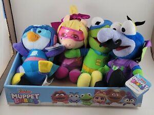 Disney Junior Muppet Babies Plush Animal Lot of 4 Gonzo Miss Piggy Kermit Summer