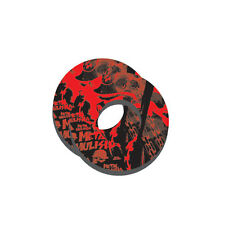 Factory Effex Moto Grip Donuts MX ATV Dirt Bike Metal Mulisha Black Red
