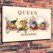 "Queen Innuendo Lona Impresa Caja A1.30""x20"" ~ Marco 30mm profundo"