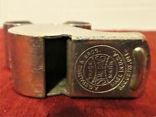 Vintage A.G. Spalding Spots Referee Finger Whistle Cork Pea Made Usa Reg Design