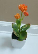 New Artificial Flowers Bush Unkillable succulent With Pot Home Table Decor