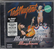 Motor City Mayhem:6000th Conce [Import] - Ted Nugent ( NEU & OVP )