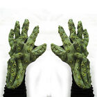 Octopus Tentacles Cthulhu Hands Green Sea Cosplay Adult Halloween Costume Gloves