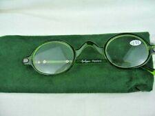 NEW Green Rim Eyekepper Reading Glasses with Case +2.5
