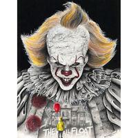 Wayne Maguire Tattooed Pennywise It Clown Inked Ikon Canvas Art Print