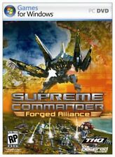 Supreme Commander Forged Alliance PC NEW And Sealed FULL Original UK Version