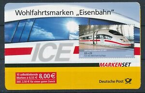 [33784] Germany 2006 Trains Good complete adhesive booklet Very Fine Mint