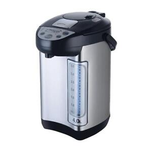 Brentwood 3.3-Liter Electric Hot Water Dispenser, Stainless Steel (kt-33bs)