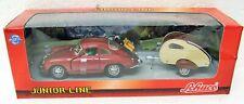 Porsche 356 Coupe w/ Trailer 1/43 Schuco Junior Line 331 5068 MB
