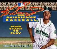 Ken Griffey Jr. Baseball - SNES Super Nintendo Game
