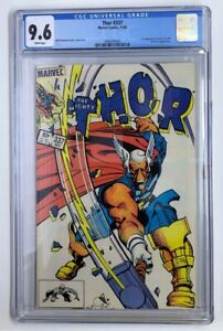 Marvel's Thor #337 White Pages CGC 9.6