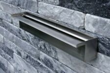 More details for oase waterfall 60cm water blade stainless steel garden pond led illumination 60