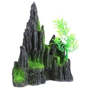 1pc Aquarium Mountain Fish Tank Rockery Stone for Office Home