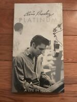 Elvis Presley Platinum A Life in Music 4 CD Booklet 078636746920 BMG/RCA 1997