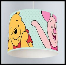 Winnie The Pooh (104) - nursery bedroom lampshade for ceiling shade