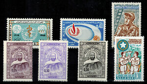 Stamps from Algeria N°467 IN 473 New Of 1968