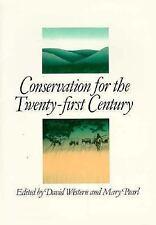 Conservation for the Twenty-first Century - David Western (PB)