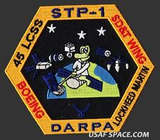 STP-1 DARPA LOCKHEED MARTIN BOEING  45 LCSS USAF DOD SATELLITE Launch PATCH