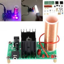 Mini Tesla Coil Plasma Speaker DIY Electronic Kit 15V-24V Music Loudspeaker 15W