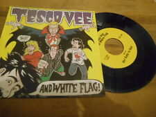 """7"""" Punk Tesco Vee + White Flag - Hot Rails To Hell / Nervous (2 Song) LOST+FOUND"""