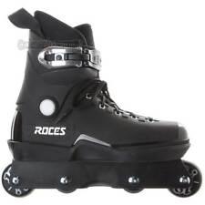 Roces M12 Black Aggressive Inline Skates Us Mens 7.0 New