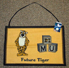 University of Missouri Future Tiger Baby Tapestry Bannerette Wall Hanging
