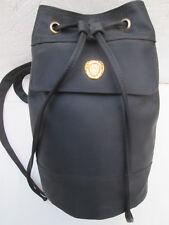 -AUTHENTIQUE  sac à dos neuf mono-bretelle PIERRE CARDIN   toile   vintage bag