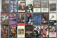 Mixed Cassette 21 Tapes Lot; ALIAS OZZY Bruce Springsteen JIMMY BUFFETT Sting ++