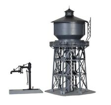 Kibri 39328 Wasserturm mit Befüllkran, Bausatz, Spur H0