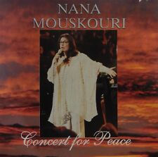 Nana Mouskouri - Concert for Peace (CD 1998 Philips) 19 Tracks Live VG++ 9/10