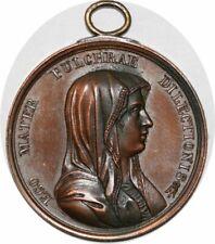 S9150 Medaglia Medal Papal Vatican Pope Leo XIII Pont Max Bianchi Ego Mater