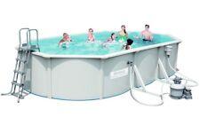 Bestway Hydrium oval Pool-set 610x360x120cm mit Sandfilter Zubehör