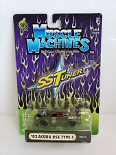 Muscle Machines Ss Tuner '02 Acura rSx Type S Green 1/64