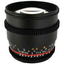 Rokinon 85mm T1.5 Cine Lens for Canon EF - CV85M-C
