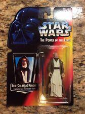 Star Wars: Power of the Force Red Card Ben Obi-Wan Kenobi with Short Lightsaber