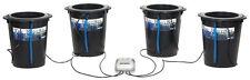 Active Aqua 4 SITE Root Spa 5 Gal Bucket System Hydroponics SAVE $$ W/ BAY HYDRO