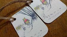 Winnie the Pooh Christmas tags, Disney Christmas Tags, Christmas gift tags.