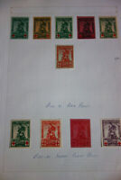 Belgium Stamps # B25-32 Lot of Plate Proofs and Imperf Plate Proofs