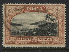 Tonga 1897 5/ used