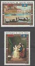 Timbres Arts Tableaux Haute Volta PA100/1 ** lot 3192