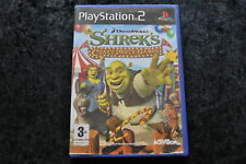 Shreks Crazy Party Games Playstation 2 PS2 geen manual