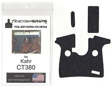 Tractiongrips rubber grip tape overlay for Kahr CT380 pistols / black grips