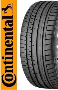 2 NEW 235/55R17 CONTINENTAL CONTISPORTCONTACT 2  235/55/17 CONTINENTAL (MO)