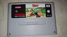 ASTERIX PAL SUPER NINTENDO SNES solo cartucho 100% ORIGINAL